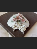 Romantic Shell and Pearl Earrings