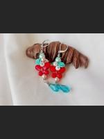 Howlite Butterfly Boho Earrings