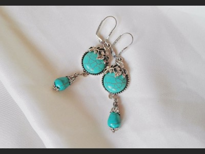 Turquoise Vintage Earrings