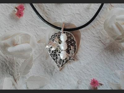 Pearl Filigree Necklace