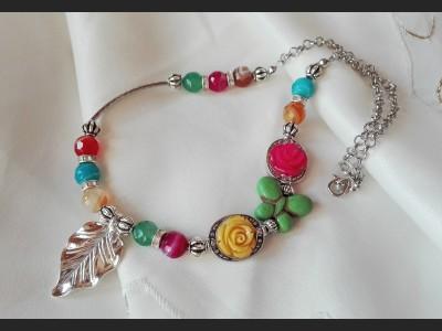 Romantic Agate  Necklace