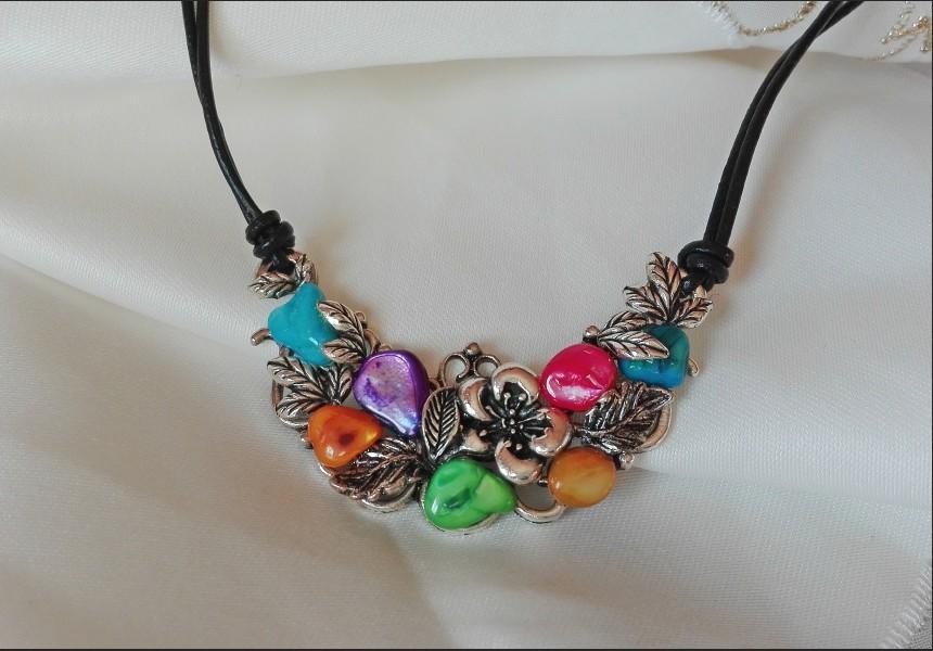 Rainbow Vintage Necklace