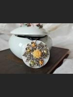 Shell Flower Vintage Necklace