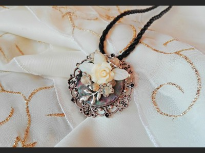 Victorian Style Filigree Necklace