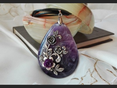 Amethyst Vintage Necklace