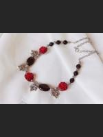 Tourmaline Flower Necklace