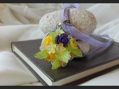 Romantic Summer Flower Necklace