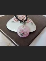 Rose Quartz Victorian Style Necklace