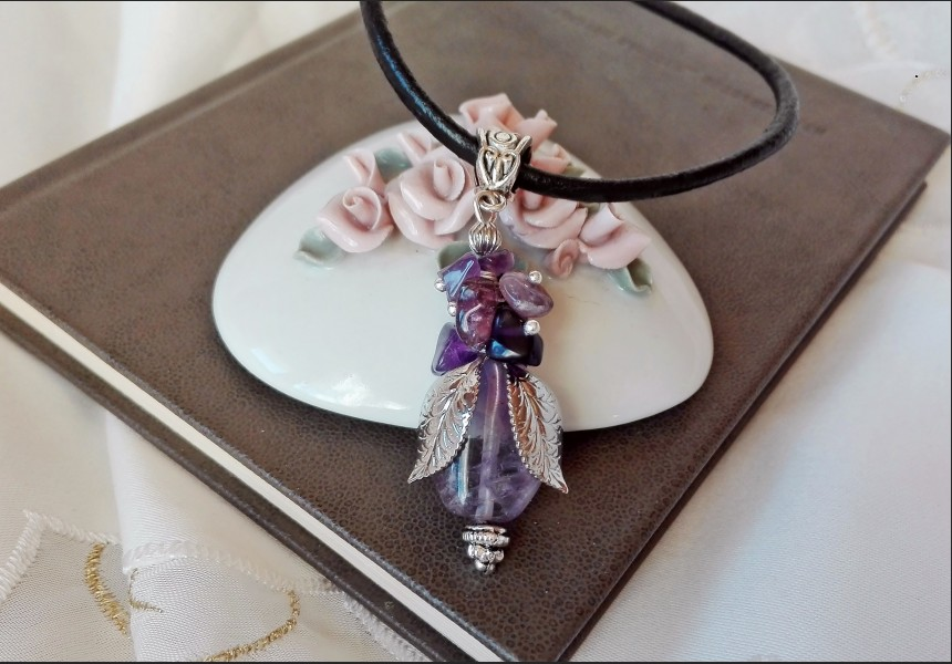 Amethyst Romantic Necklace