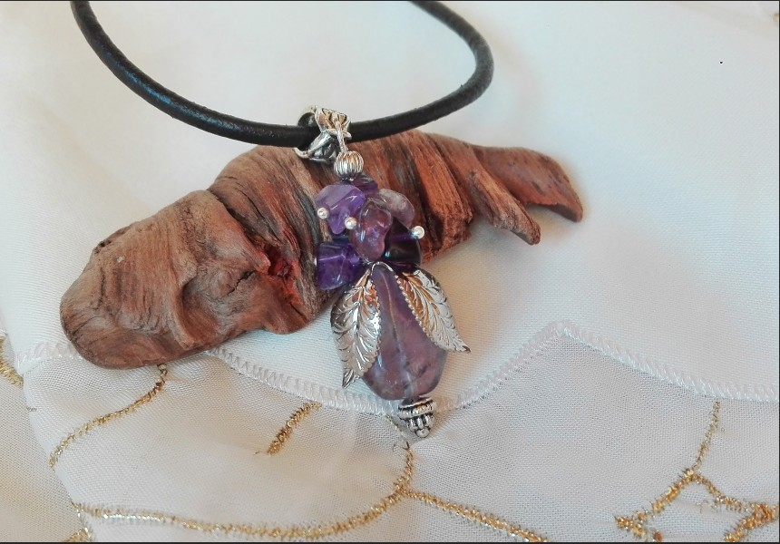 Amethyst Romantic Necklace