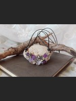 Amethyst Flower Vintage Necklace